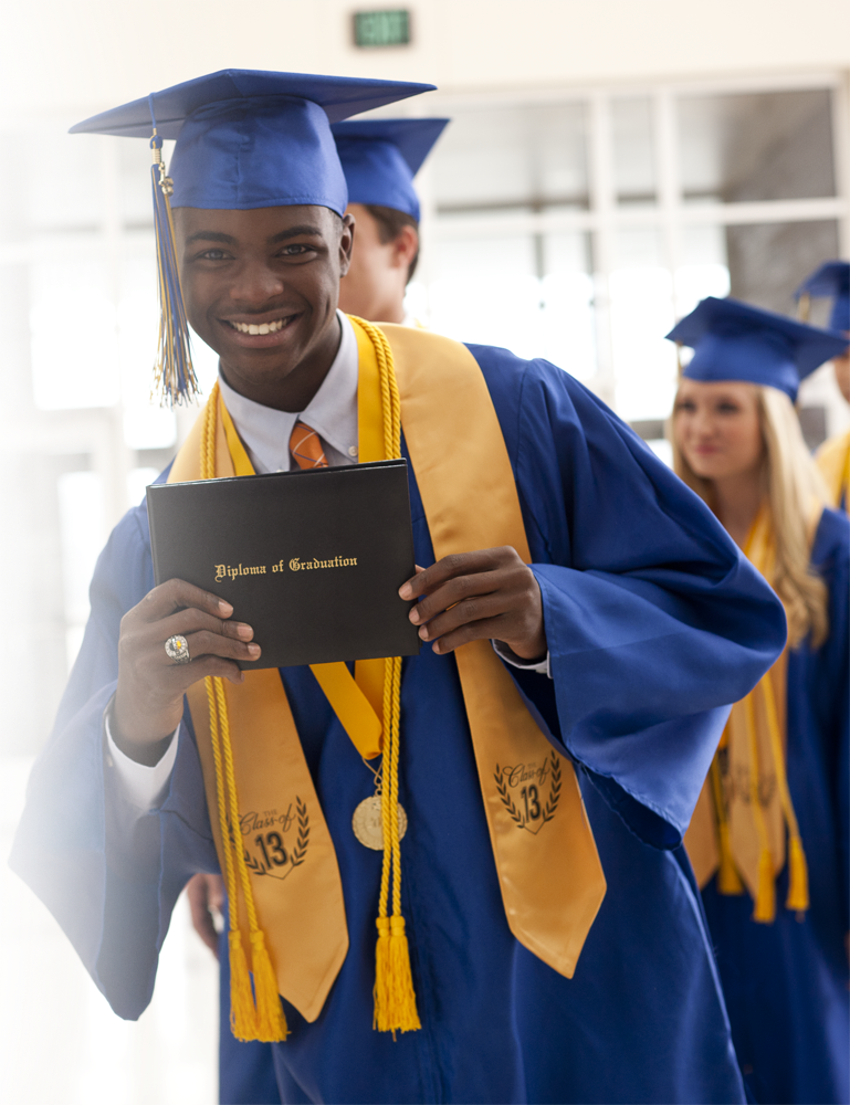 Cap, Gown, Tassel, Class Stole and Diploma Cover
